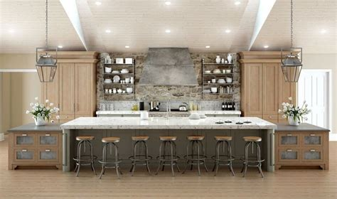 Deluxe Kitchen Design by Galley Kitchen With Island Dimensions 64 Deluxe Custom