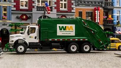Garbage Truck Freightliner Mcneilus Rear Gear Wallpapers