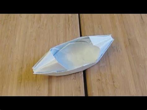 How To Make A Realistic Paper Boat by Le Bateau En Papier Qui Flotte Sur L Eau Origami