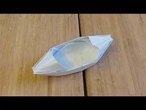 Origami Bateau à Voile : le bateau en papier qui flotte sur l 39 eau origami youtube ~ Dode.kayakingforconservation.com Idées de Décoration