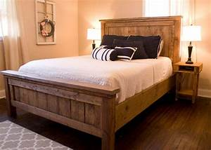 Farmhouse Bed Rustic Furniture Wooden Bed Please Contact