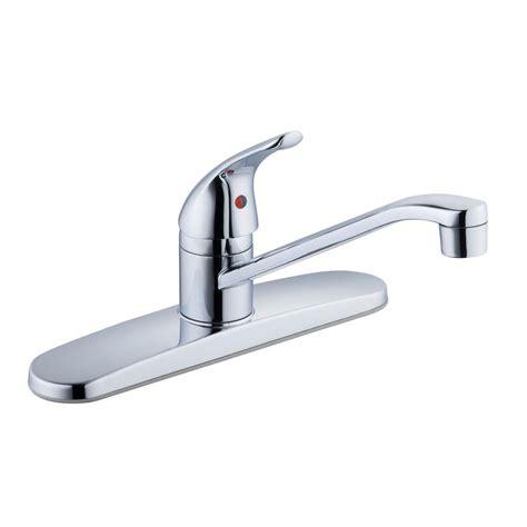 glacier bay faucets glacier bay single handle standard kitchen faucet in