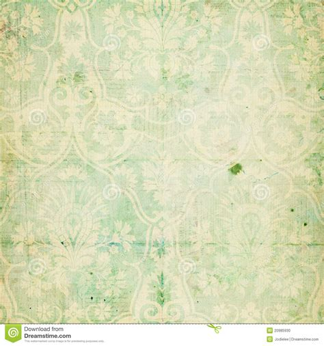green shabby chic wallpaper green shabby chic vintage damask texture stock photo image 20985930