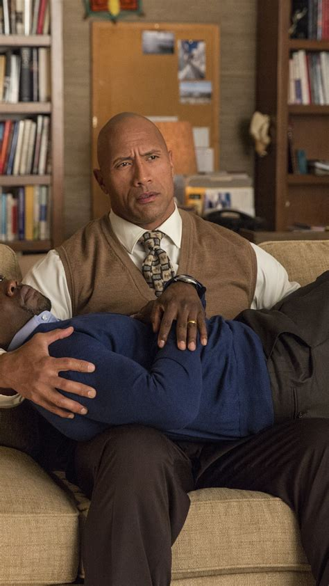 dwayne johnson hart kevin intelligence central movies wallpapers hd wallpapershome