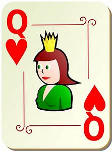 Playing Cards | Free Stock Photo | Illustration of a Queen ...