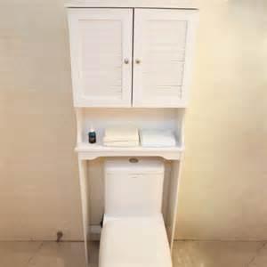 Bathroom Storage Over Toilet Cabinet