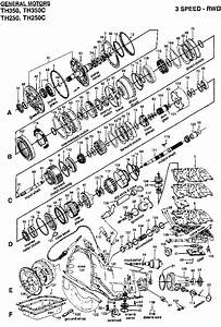 Th350 Transmission Parts Diagram