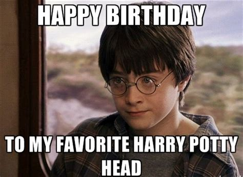 Harry Potter Birthday Memes - top hilarious unique happy birthday memes collection 2happybirthday