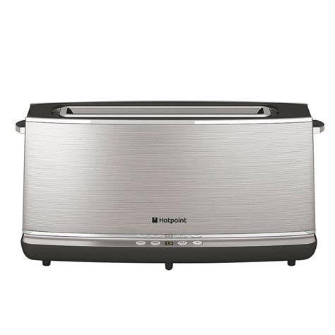 one slot toaster hotpoint slot digital toaster tt12euk review