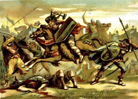 trois historiens denoncent lheroisation de charles martel