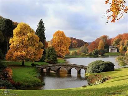 Geographic National 1080p Nature Autumn England Bridges