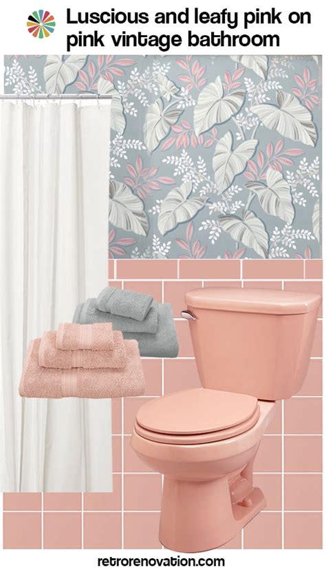 retro pink bathroom ideas 13 ideas to decorate an all pink tile bathroom retro