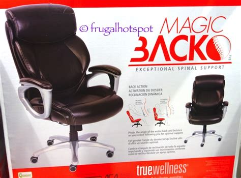 costco sale true innovations magic back manager chair