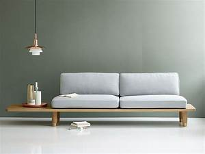 Plank, Sofa, Created, From, A, Wood, Plank