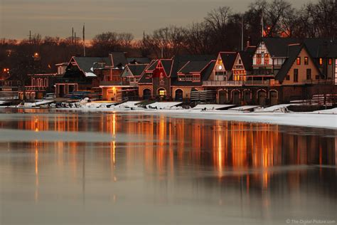Boathouse Row by Boathouse Row Philadelphia