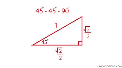 Special Right Triangles 45 45 90 Worksheet  The Large And Most Comprehensive Worksheets