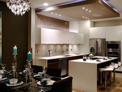 large  kitchen  drop ceiling  modern kitchen