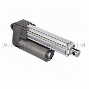 China Small Mini 12vdc Linear Actuator Piston Adjustable