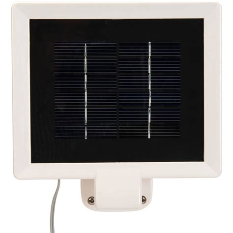 brinks led solar powered motion activated security light