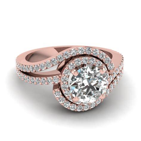 Swirl Round Diamond Halo Ring In 14k Rose Gold. Loop Earrings. Mama Bear Necklace. Metal Lockets. Birthstone Ankle Bracelets. Contemporary Bracelet. Estate Rings. Baguette Rings. 70 Carat Diamond