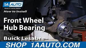 How To Replace Front Wheel Hub  U0026 Bearing 92