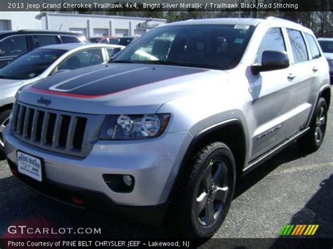 jeep grand cherokee trailhawk silver bright silver metallic 2013 jeep grand cherokee