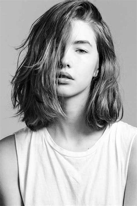 short  mid length haircuts