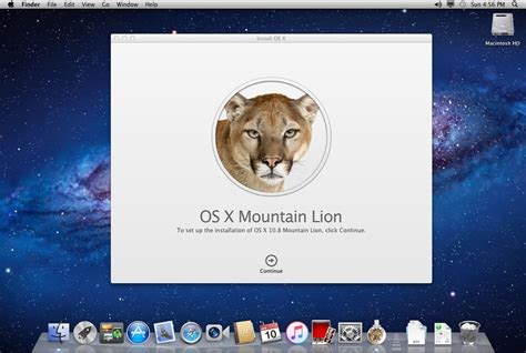 Upgrade Install Of Os X Mountain Lion