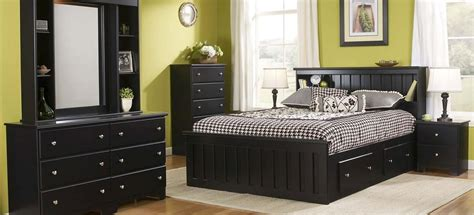 classic black bedroom furniture lang furniture
