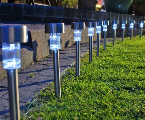 lampu taman solar cell  halamantaman tenaga surya