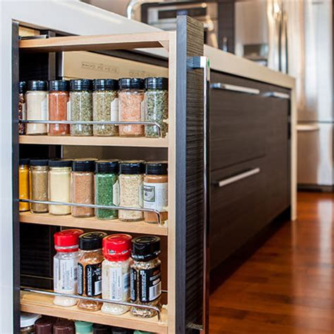 pull  spice rack base superior cabinets