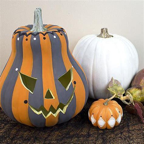Striped Painted Pumpkin - Project by DecoArt
