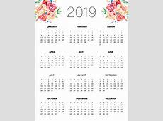 Free Printable 2019 Planner 50 Plus Printable Pages
