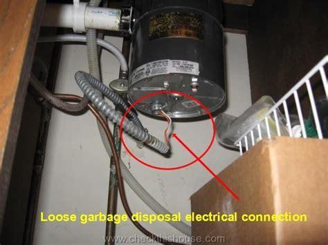 garbage disposal wiring kitchen disposal safety