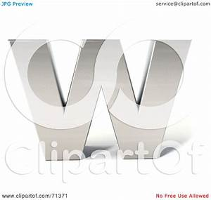 Royalty-Free (RF) Clipart Illustration of a 3d Chrome ...