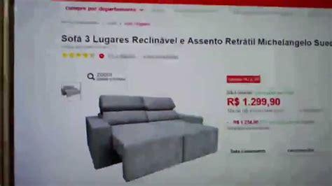 sofa retratil e reclinavel sofá 3 lugares reclinável e assento retrátil michelangelo