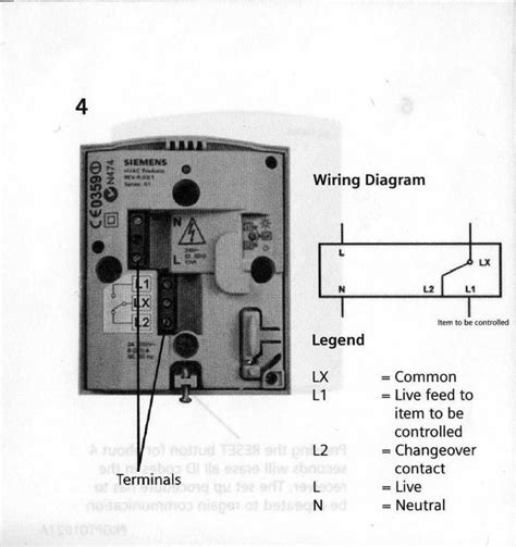 siemens rdhrf wireless thermostat diynot forums