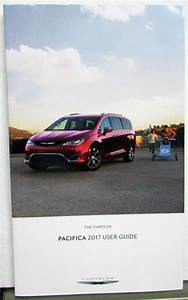 2017 Chrysler Pacifica User Guide With Pouch Owners Manual