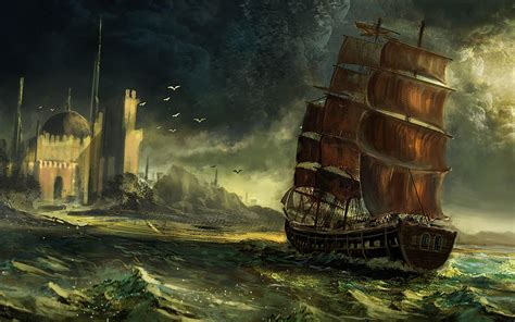 Pirate Ship Wallpaper (82+ Images