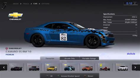 Cars Race Modification Gt5 by Gt5 Race Cars