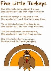 five turkeys poem