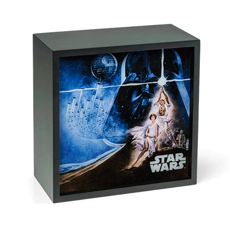 star wars light box wall art for the dark side of the room