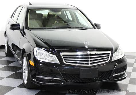 2014 Used Mercedesbenz Cclass Certified C300 4matic