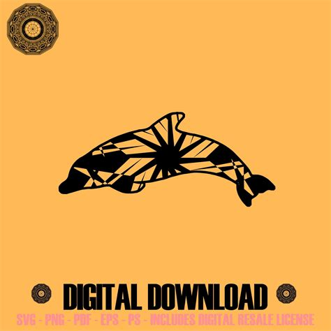 You can only upload 3 icons as a free user. Dolphin Mandala SVG November Collection Digital Download ...