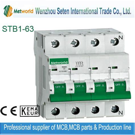 China Stb Series Mcb Miniature Circuit Breaker