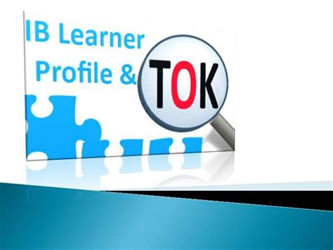 Tok Presentation Template Pdf by Ib Learner Profile And Tok Authorstream
