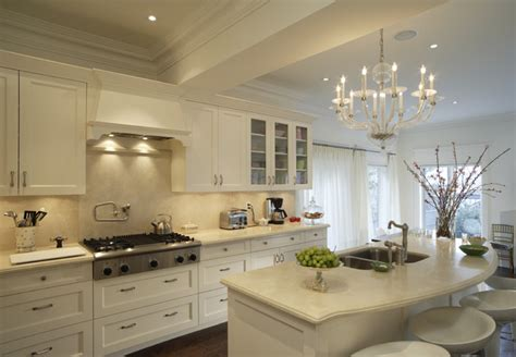 21 Spotless White Traditional Kitchen Designs Godfather