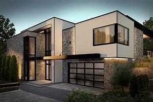 Maison Sans Toit : la maison tanguay virtuelle et contemporaine fa ade ~ Farleysfitness.com Idées de Décoration