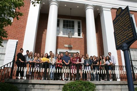 chamber foundation welcomes youth leadership class bedford county