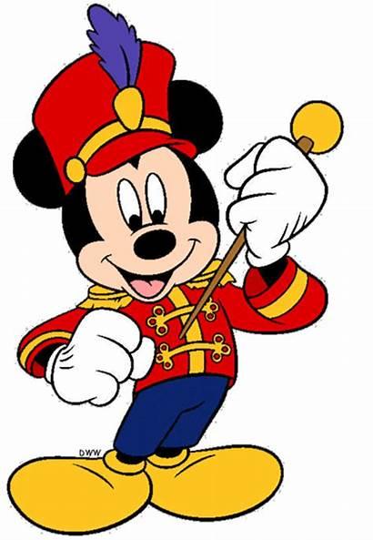 Mickey Mouse Clip Disney Clipart Minnie Parade